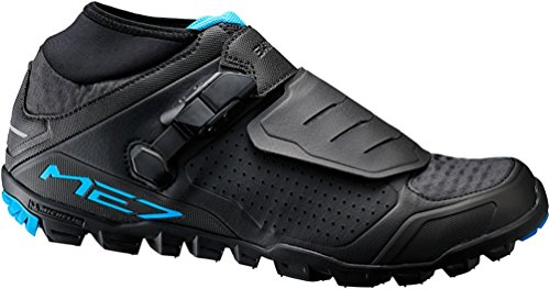 SHIMANO SH-ME7 Cycling Shoe - Men's Black, 46.0