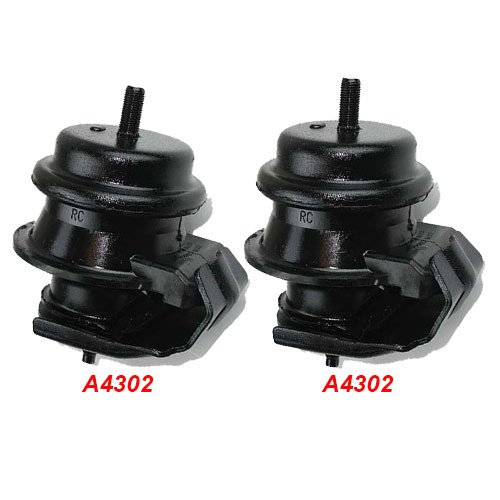 [OMNI 5 Fits 03-09 Nissan 350Z 3.5L Engine Motor Mount Front Left & Right 2 Pieces 03 04 05 06 07 08 09 A4302 A4302: K43-02] (Nissan 350z Engine Mount)