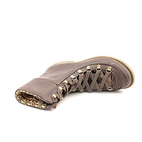 American Fille Kelsey Womens Størrelse 5,5 Brune Faux Skinn Mote Ankelstøvletter