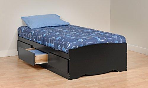 Prepac Twin Platform Storage Bed - BBT-4100-2K