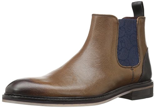Ted Baker Men's Zilpha Chelsea Boot, 215brown, 9 M US (Print Baker Dress Ted)
