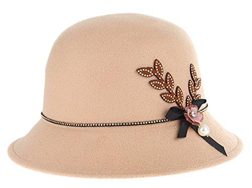 La Vo (Brown Cloche Hat)