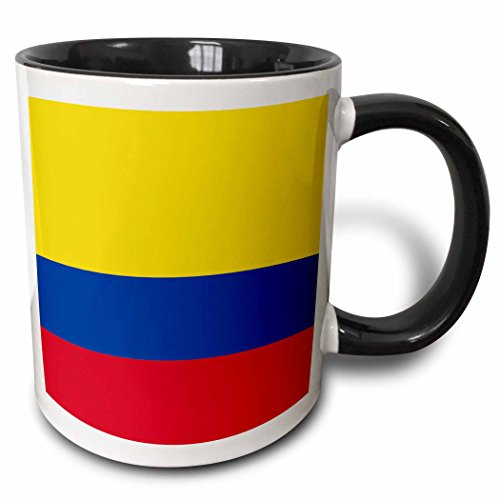 3dRose Flag of Colombia Colombian gold yellow blue red horiz