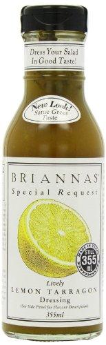 Briannas, Dressing Lemon Tarragon, 12 Fl -
