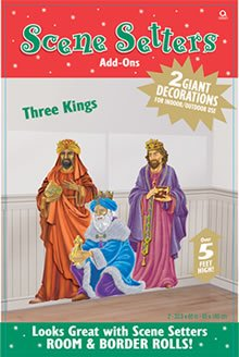 Three Kings 65in Scene Setter Add-Ons 2ct ()
