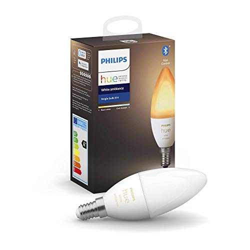 Philips Hue kaarslamp – warm tot koelwit licht – 1-pack