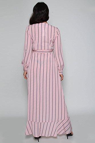 Kleid Damen MISSI Pink Babyrosa Wickel LONDON Tpw8xqvH