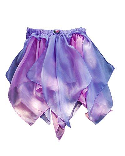Sarah's Silks - Reversible Silk Fairy Skirt (Pink/Lavender)