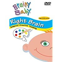"""Brainy Baby: Right Brain [Includes """"Playful Baby"""" CD]"""