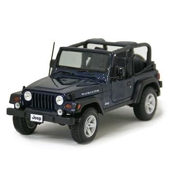 Jeep Wrangler Rubicon Azul 1/18 Maisto [minicar, Jeep, Wrangler, Rabikon