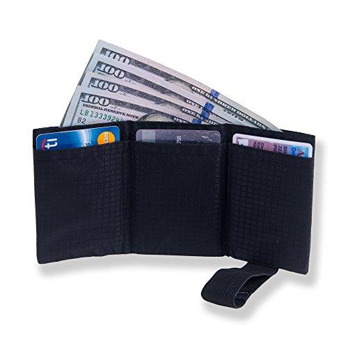 Ultra Nylon Trifold Wallet Blocking
