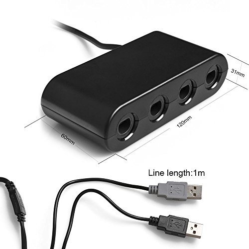 Kabalo GameCube to Wii U Controller Adapter Converter For Sale