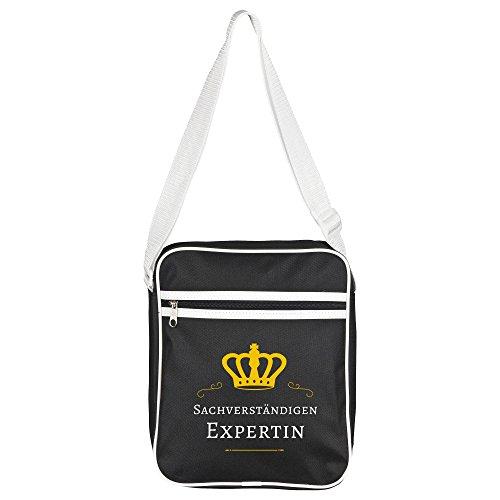 Bag Shoulder ndigen Sachverst Black Expert Retro 5BOnn