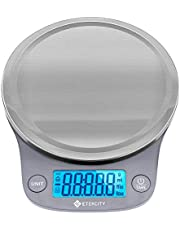 Etekcity 0.1g Food Kitchen Scale, Digital Grams and Ounces for Weight Loss, Baking, Cooking, Keto and Meal Prep, Large, 304 Stainless Steel