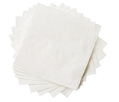 Beverage Paper Napkins Pack By eDayDeal Folded Paper Towels For Cocktails, Wine, Appetizers, Water Absorbent For Parties, Meetings, Home Use, Disposable And Convenient, And Elegant (1000)