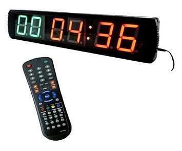 d5f26c58d894 godrelish LED Fitness intervalo de cuenta atrás hasta temporizador reloj de  pared 4  quot