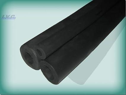 dimensioni 50x10 mm Colore avorio La Ventilazione ISO1 Fascia isolante adesiva in gomma