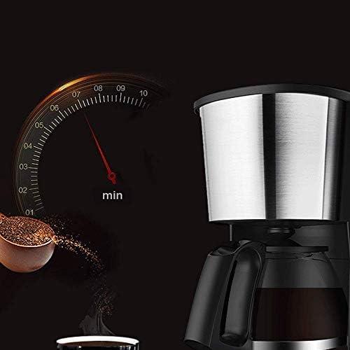 Voptech Koffiezetapparaat, 650ml koffiezetapparaat met Anti Druppel functie, koffiezetapparaat, Anti-Drip systeem, Permanent Herbruikbare Filter, Zwart, for espressokooktoestel