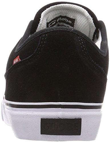 Globe Black hommes Mahalo skate de Noir 000 Chaussures White 6r4zq6wS