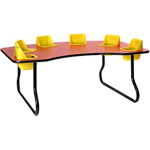 6 Seat Toddler Table - 1