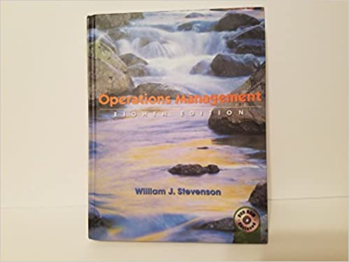 Operations management the mcgraw hillirwin series operations and operations management the mcgraw hillirwin series operations and decision sciences william j stevenson 9780072869057 amazon books fandeluxe Image collections