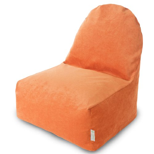Back Lounge Seat (Majestic Home Goods Kick-It Chair, Villa Orange)