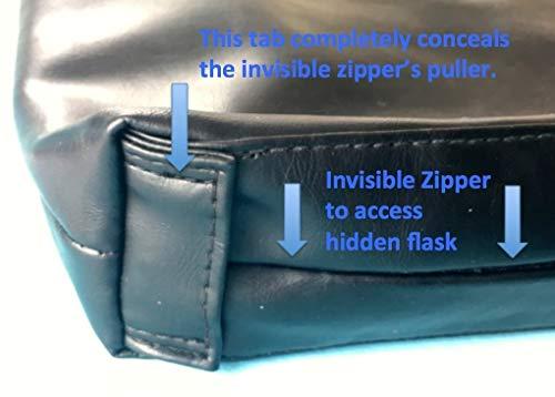 Binocktails Bev-Satch Secret Messenger Bag Flask by Binocktails (Image #6)