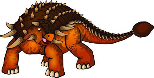 - Cool Dinosaur Ancient Reptile Little Boy Toy Learning Cartoon Vinyl Sticker (4