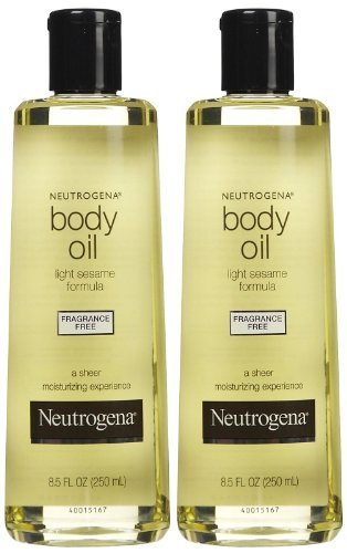 Neutrogena Body Oil, Fragrance Free, 8.5 oz, 2 pk (Best Body Oil Fragrance)
