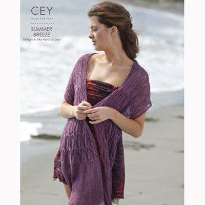 Classic Elite Pattern Book 9178 Summer Breeze Silky Alpaca Lace Yarn -