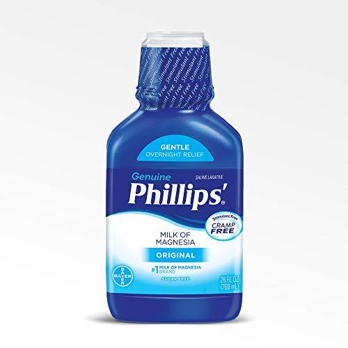 Laxative Of Magnesia Milk Magnesium - Phillips' Milk of Magnesia Laxative (Original, 26-Fluid-Ounce Bottle)
