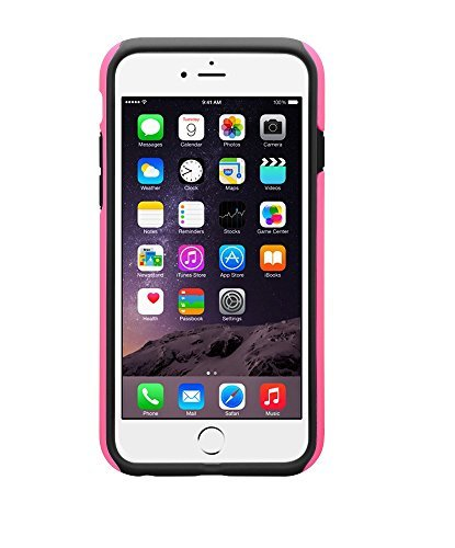 Melkco Kubalt Double Layer Case für Apple iPhone 6 pink/schwarz