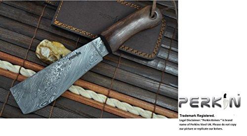 Custom Damascus Hunting Knife Machete product image