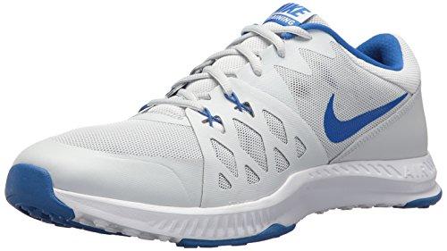 Nike Men's Air Epic Speed TR II Cross Trainer, Pure Platinum/Hyper Cobalt, 13 D(M) US