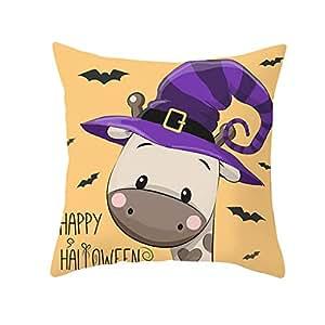 YWLINK Halloween Owl Series Funda De Almohada Nordic Sofa ...