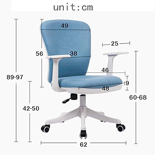 JRPS Sedia da Ufficio Tessuto Cuscino Dello Schienale