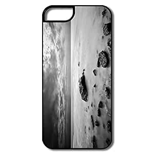 Custom YY-ONE ECO Sea Black White IPhone 5/5s Case For Team