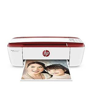 HP DeskJet 3764 - Impresora de tinta multifunción (8 ppm, 4800 x 1200 DPI, A4, Wifi, Escanea, Copia, 60 hojas, Modo silencioso, incluye 1 año de ...