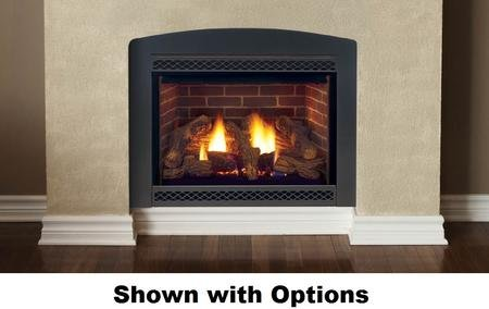 Convertible Direct Vent Fireplace - 3