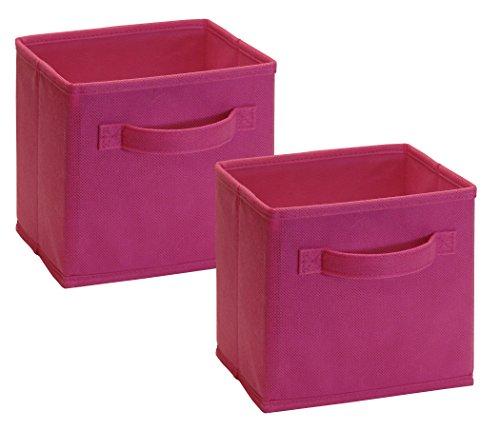 ClosetMaid Cubeicals Cajones de tela, pequeños, Fucsia, 1
