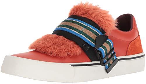 Diesel Women's 355 S-Flip Low Buckle W Sneaker, Pureed Pumpkin, 9 M ()