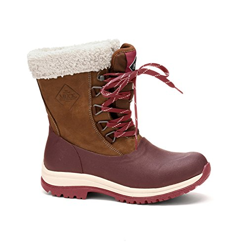 Muck Boot Women's Arctic Lace Mid Snow - Chocolate/Cordov...