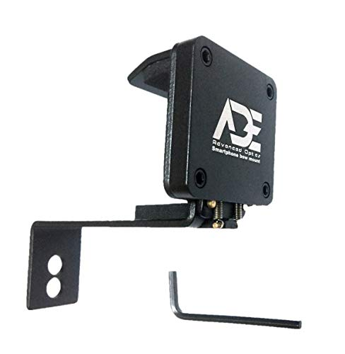 Ade Advanced Optics Smartphone Cell Phone Holder Bow Mount for for Compound Recurve Bow Hunting ()