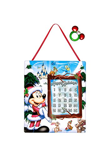 Disney Parks Mickey Mouse Happy Holidays Christmas Wall Calendar NEW