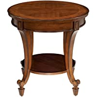 Magnussen Home Furnishings Aidan Traditional Cinnamon Round End Table