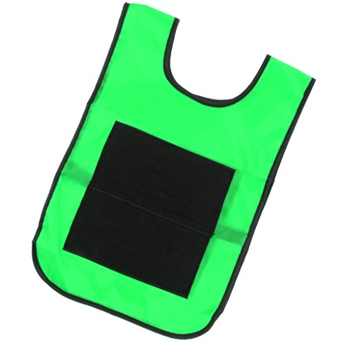Homyl Sticky Ball Catch Vest, Team Practice Pinnies, Kids Babies Outdoor Game Cloth - Green