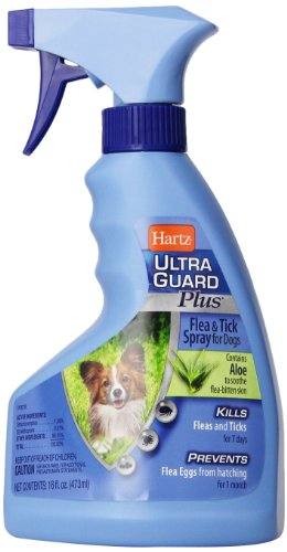 Hartz UltraGuard Plus Flea & Tick Spray for Dogs