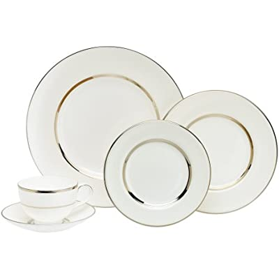 Click for Royal Doulton Platinum Silk 5-Piece Place Setting, Service for 1