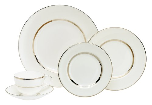 Royal Doulton Platinum Silk - Royal Doulton Platinum Silk 5-Piece Place Setting, Service for 1