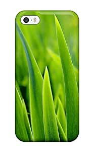 New Premium Barbara Gorman Green Grass Leaves Beautiful Contrast Nature Other Skin Case Cover Excellent Fitted Case For Ipod Touch 5 Cover